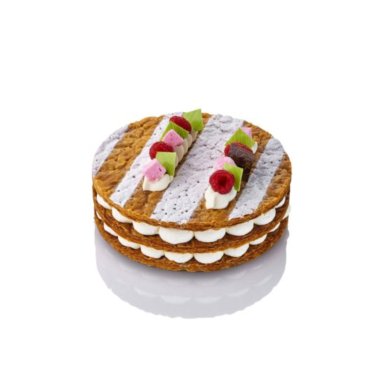 Mille-feuille framboise chantilly