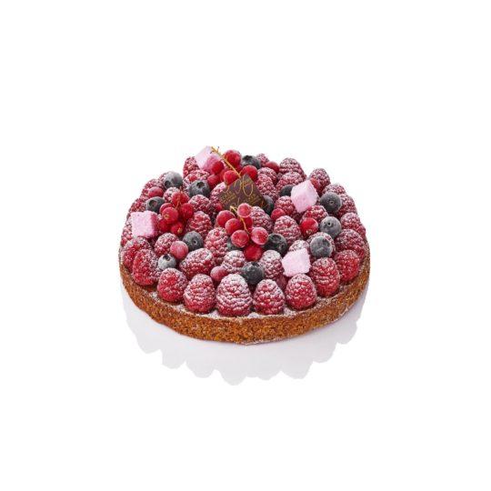 Tarte aux fruits rouges